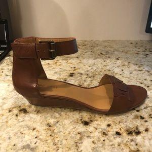 Nine West | Brown wedge sandal